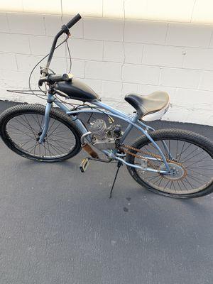 Used custom motorized bike 80cc 200.00 obo for Sale in Huntington Beach, CA