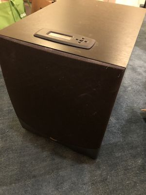 "Klipsch Subwoofer 12"" black RW 12d for Sale in Seattle, WA"