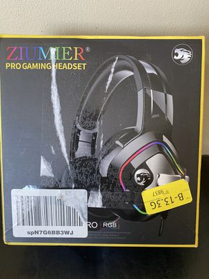 Ziumier Pro Gaming Headset for Sale in Simpsonville, SC