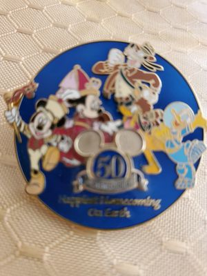 Disneyland 50th happiest homecoming on earth pin for Sale in Stockton, CA