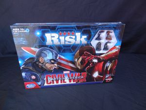NEW! Captain America Civil War Risk Board Game for Sale in West Palm Beach, FL