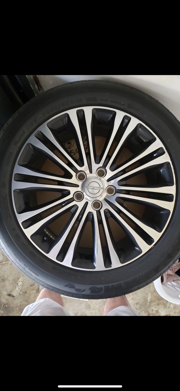 Chrysler 300 rims