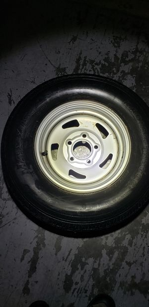 Trailer Spare wheel and tire 185/80/13 never been used for Sale in Federal Way, WA
