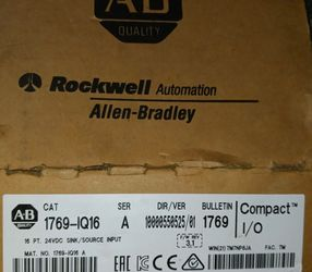 BRAND NEW - Allen Bradley 1769-IQ16 /A 1769-1Q16 CompactLogix 24V DC Sink/Source Input for Sale in Redlands,  CA
