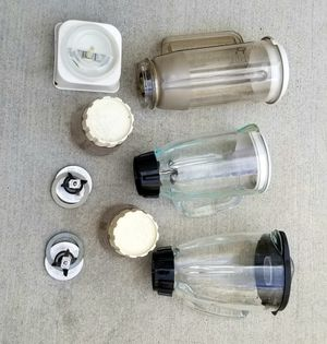 Various blender jars for Sale in Stockton, CA
