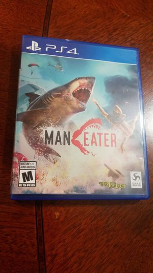 Man Eater for PS4 for Sale in Fontana, CA