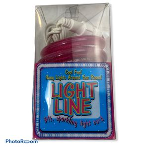 Party Line Sparkly Light Cord Pink Rope for Sale in Princeton, NJ