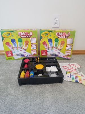 Crayola emoji maker kits for Sale in Lake Stevens, WA