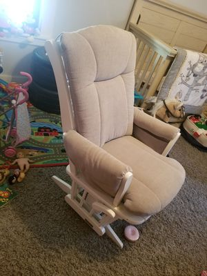 Dutailier Glider and Ottoman - Sleigh Style and Reclinable! for Sale in Waltham, MA