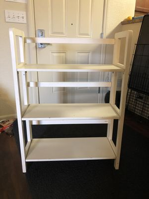White shelf case for Sale in San Luis Obispo, CA