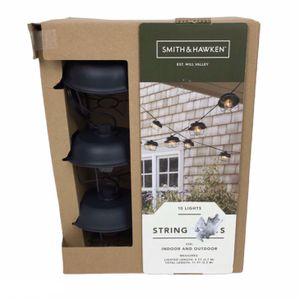 New String Lights Black 10ct Incandescent G40 (Tarpon Springs) for Sale in Palm Harbor, FL
