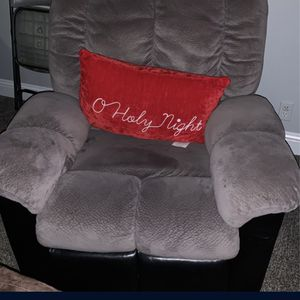 Light Grey Chair Recliner Pillow Is Not Included for Sale in Beaverton, OR