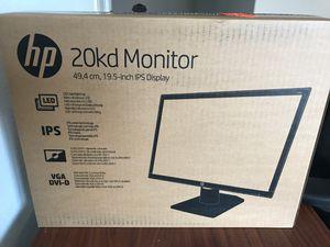 "Hewlett-Packard 19.5"" LED Monitor for Sale in Aubrey, TX"