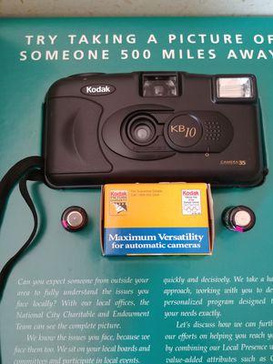 Kodak KB10 camera 35/kodak gold max 400/24 exp film for Sale in Cleveland, OH