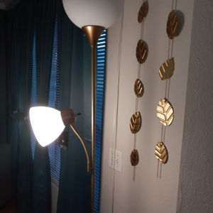 2. Champane Color Floor Lamp (Price Is Negotiable) for Sale in Chino, CA