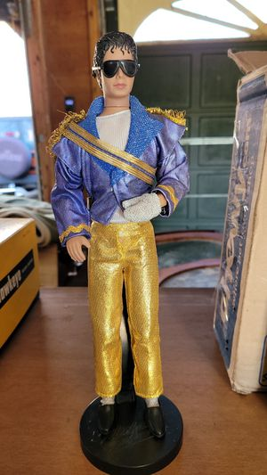 Michael Jackson Barbie w/ stand for Sale in East Bangor, PA