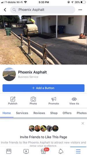 Phoenix Asphalt for Sale in Fort McDowell, AZ