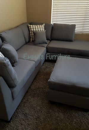 NEW gorgeous grey sectional for Sale in Glendale, AZ