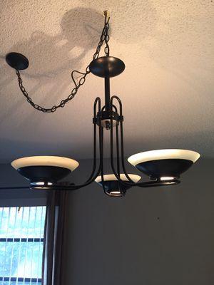 Chandelier 3 bulb for Sale in Boca Raton, FL