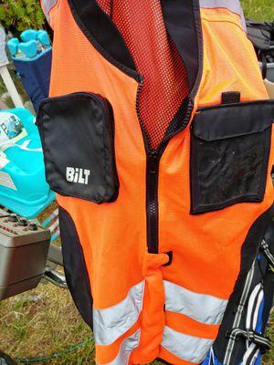 Bilt brand motorcycle reflector vest size XL 4XL adjustable for Sale in San Diego, CA
