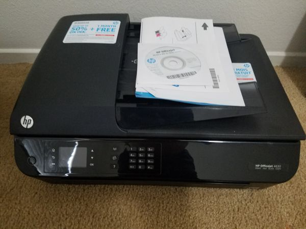 Hp office jet 4630 printer