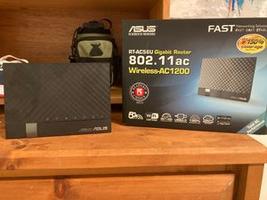 Asus router 5g never used with Ethernet cable for Sale in Seattle, WA