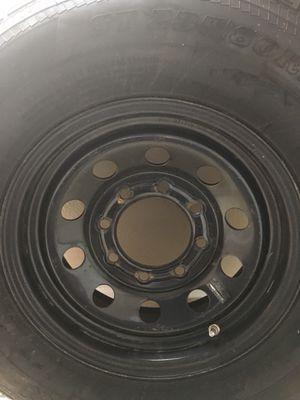 2 New Hi-Run Trailer Tire w/rim for Sale in Watauga, TX