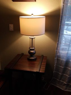 2 Lamps. 2 side tables 1 coffee table. ashley furniture for Sale in Yelm,  WA