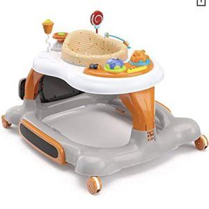 Storkcraft 3-in-1 Activity Walker & Rocker w/ Jumping Board & feeding tray, Interactive Walker w/ Toy Tray & Jumping Board For Toddlers & Infants for Sale in Las Vegas, NV