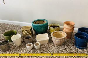 Assorted Planters / Flower Pots for Sale in Virginia Beach, VA