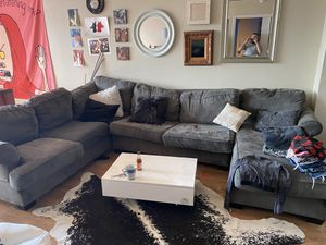 Dope double sectional couch for Sale in San Jose, CA