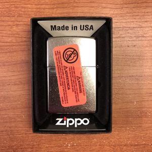 Zippo 207 Regular Street Chrome Lighter for Sale in Garden Grove, CA