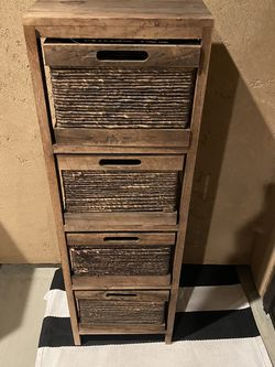 RUSTIC 4 Drawer Organizer !!!! for Sale in Fresno,  CA