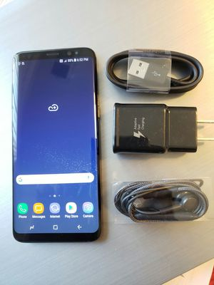 Samsung Galaxy S8 , Excellent Condition,  FACTORY UNLOCKED. for Sale in West Springfield, VA