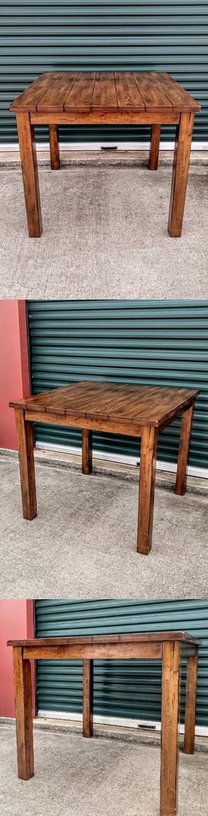 Large Solid Wood Pub Table for Sale in Durham, NC