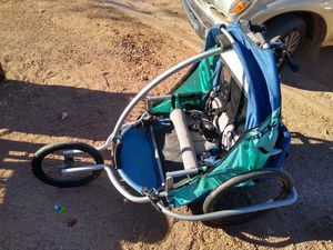 Trek doodlebug two child bicycle trailer for Sale in Apache Junction, AZ