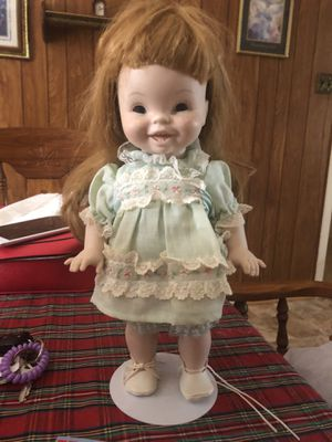 Vintage porcelain doll with movable joints for Sale in Parkville, MD