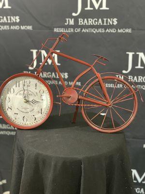 Vintage bike clock deco for Sale in Tampa, FL