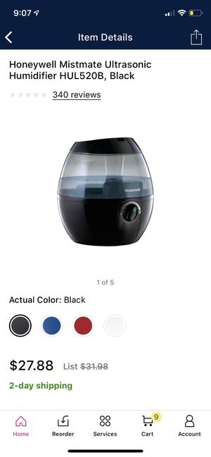 New in box cool air humidifier for Sale in Tinley Park, IL