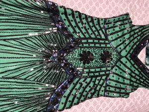 Gatsby dress with headband (nice Halloween costume) for Sale in Columbia, MD