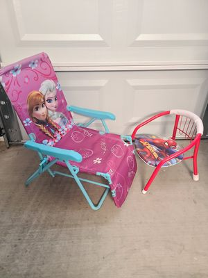 Brand New!!! Spiderman Chair and Frozen Lounger!!! for Sale in Mesa, AZ