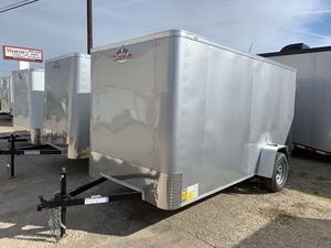 Cargo mate 6 x 12 tandem axle trailers for Sale in Fort Worth, TX