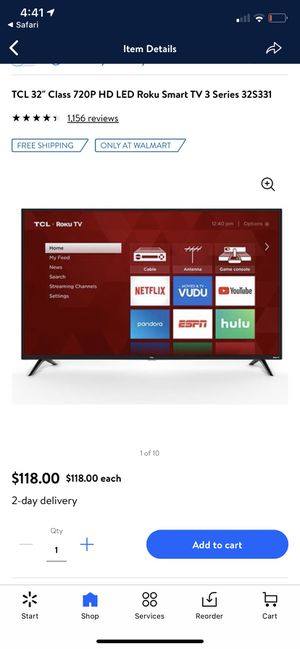 TCL 32' Smart TV for Sale in Stockbridge, GA