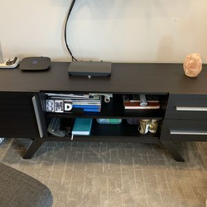 Media Console Dark Espresso Finish for Sale in Lombard, IL