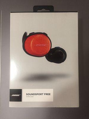 Bose SoundSport Free Wireless Earbuds for Sale in Miramar, FL
