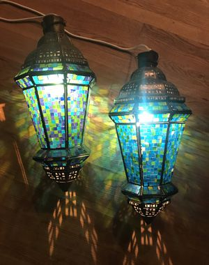 Glass Mosaic Hanging Lanterns for Sale in San Diego, CA