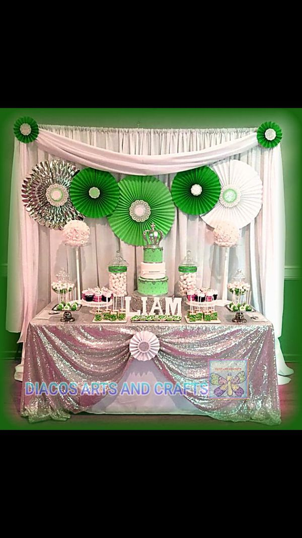 Event Decorations - Birthdays, Weddings, Baby showers, etc.