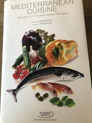 Mediterranean Recipe Cookbook for Sale in Escondido, CA