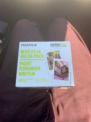 60 pack of films for all Instax Mini cameras for Sale in Bakersfield, CA