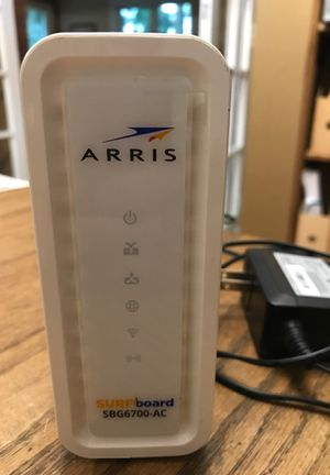 Arris Surfboard SBG6700-AC. Modem/router for Sale in New Carlisle, IN